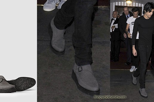 STYLE : Zayn Malik attended Royal Variety Performance with All Saints shoes
