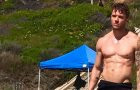SEXY : Hot summer with Ryan Phillippe in Men's Fitness