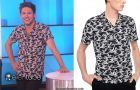 STYLE : Niall Horan appeared on The Ellen Show with a Sandro shirt