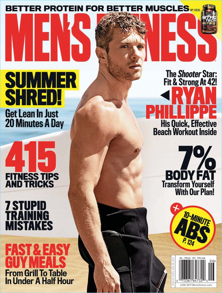 SEXY : Ryan Phillippe in Mens Fitness - Fringues de séries