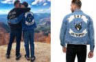 STYLE : Colton Haynes and his catastrophy print denim jacket