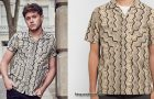 STYLE : Niall Horan with a Beams Plus shirt