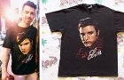 STYLE : Joe Jonas with a vintage Elvis Presley tee