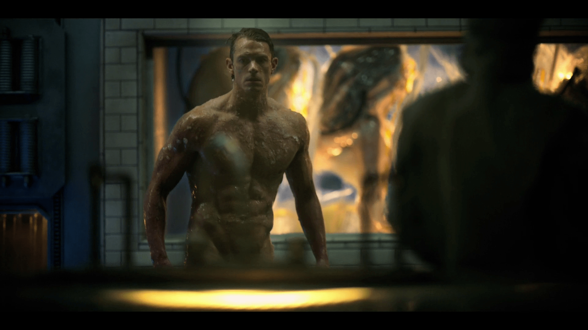 Altered Carbon Male Frontal joel kinnaman naked butt in altered carbon - famousmales
