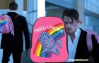 ALTERED CARBON : Hello unicorn backpack in episode 4