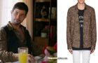 DYNASTY : Sammy Jo With a leopard print shirt in s1ep18
