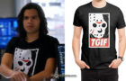 THE FLASH : TGIF Funny T-shirt for Cisco in s4ep16