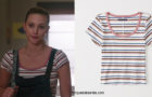 RIVERDALE : striped t-shirt for Betty in s3e03