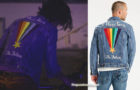 Now Apocalypse : Pride Community trucker jacket for Ulysses in episode 1