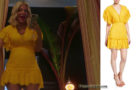 BH90210 : Tori's yellow dress in episode 1