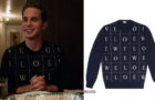 THE POLITICIAN : Loewe sweater for Payton in s1e02