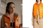 DYNASTY :Fallon's quilted down vest