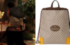 DAYBREAK : Gucci backpack for Wensley