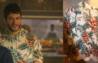 YOU : Forty's white floral hoodie in S2E01