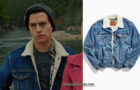 RIVERDALE : Jughead's denim jacket in S4E09