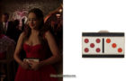 DYNASTY : Fallon's domino purse in S3E14