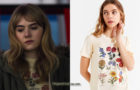 Locke & Key : Kinsey's flower chart t-shirt in S1E03