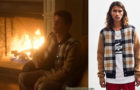 ELITE : Ander's checked cardigan in S3E01