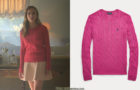ELITE : Carla's pink sweater in S1E01